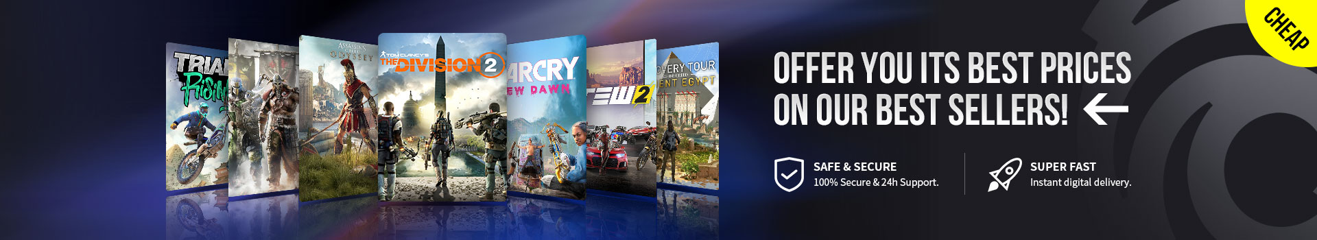 Buy Uplay Games CDKeys