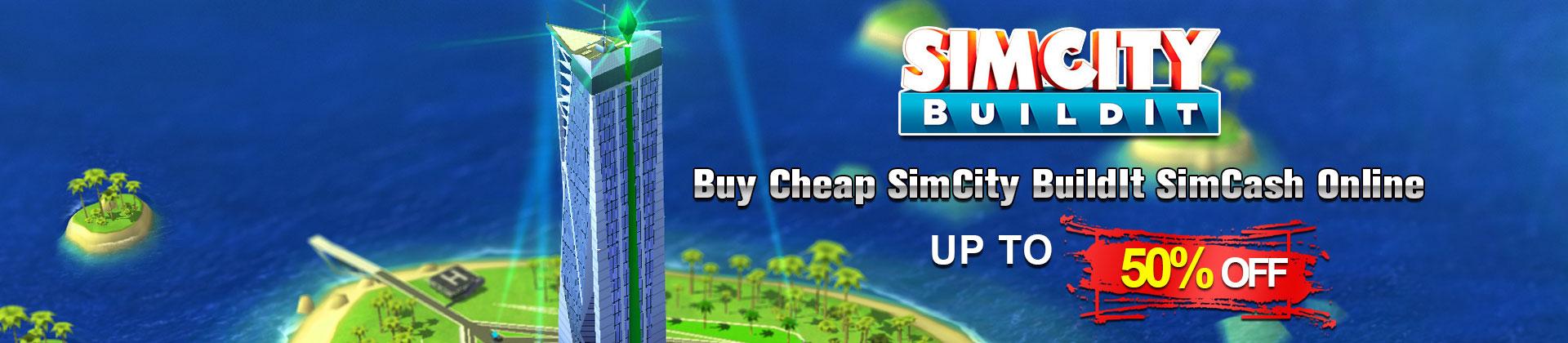 Buy SimCity BuildIt SimCash