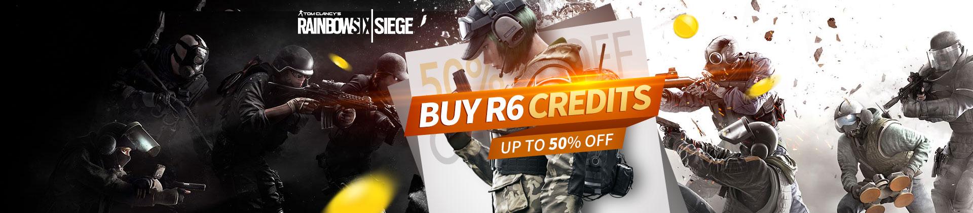 Buy Rainbow Six Siege Credits