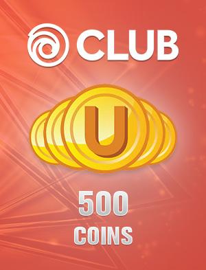 Ubisoft Club 500 Coins