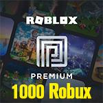 Roblox Premium 1Month + 1000 Robux