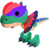 Dilophosaurus(Rare)