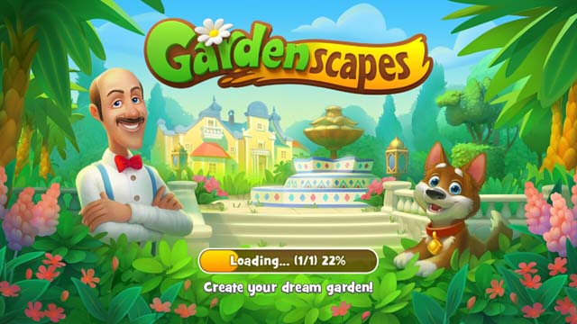 android gardenscapes hack level