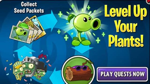 How To Level Up Your Plants Fast In Plants v Zombies 2