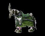 Green Skeletal Warhorse(WoW Classic)